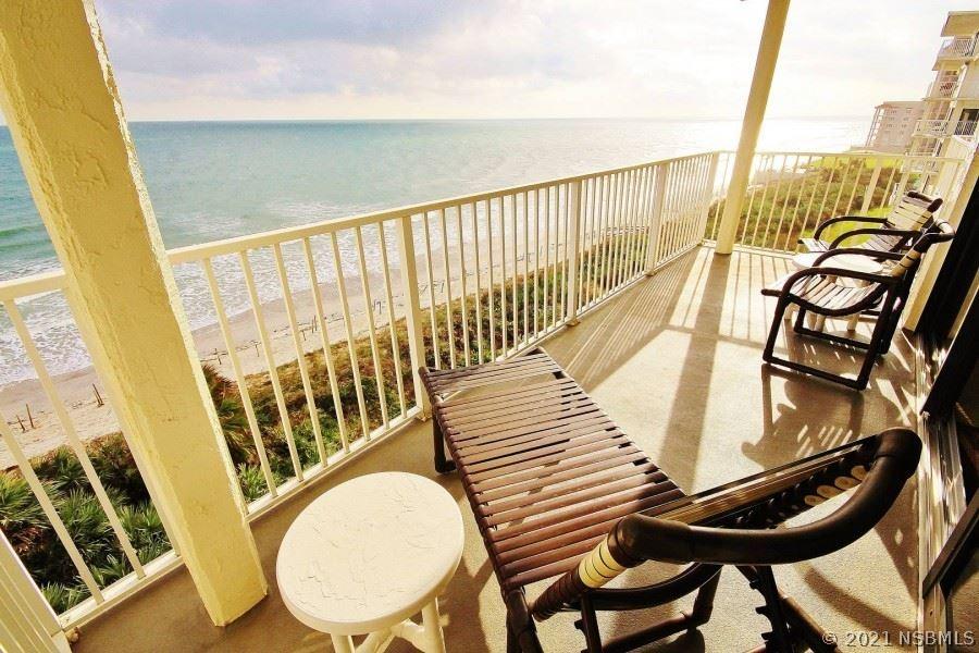 Photo of 5301 S Atlantic Avenue #520, New Smyrna Beach, FL 32169 (MLS # 1063944)