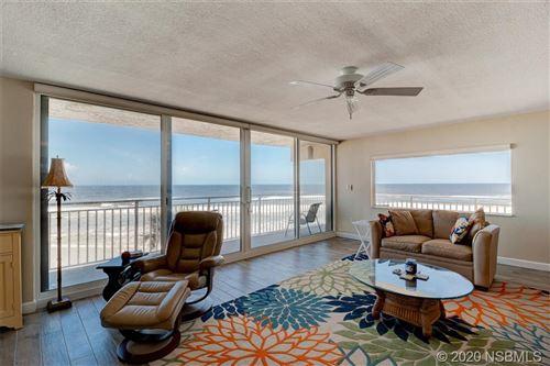 Photo of 2401 S Atlantic Avenue #C301, New Smyrna Beach, FL 32169 (MLS # 1060946)