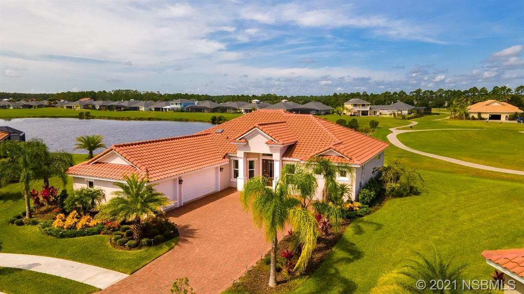 Photo of 2923 W Venetian Lake Circle, New Smyrna Beach, FL 32168 (MLS # 1065959)