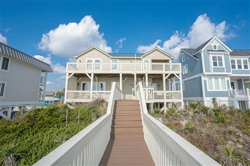 Photo of 108 Ocean Boulevard E, Holden Beach, NC 28462 (MLS # 100175001)