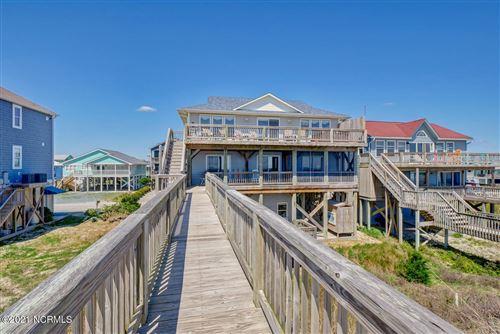 Photo of 1501 Ocean Boulevard, Topsail Beach, NC 28445 (MLS # 100265008)