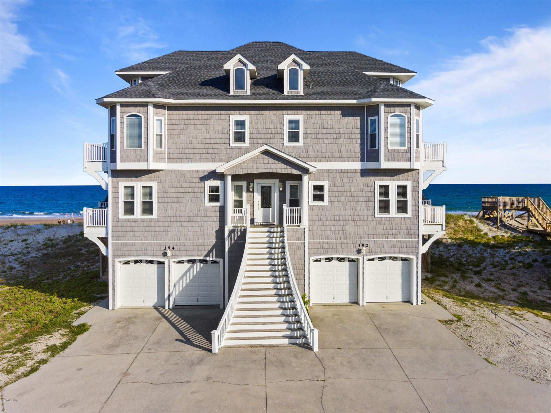 392\/394 New River Inlet Road, North Topsail Beach, NC 28460 - MLS#: 100224019