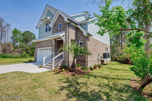 Photo of 128 Lighthouse Drive, Carolina Beach, NC 28428 (MLS # 100247028)