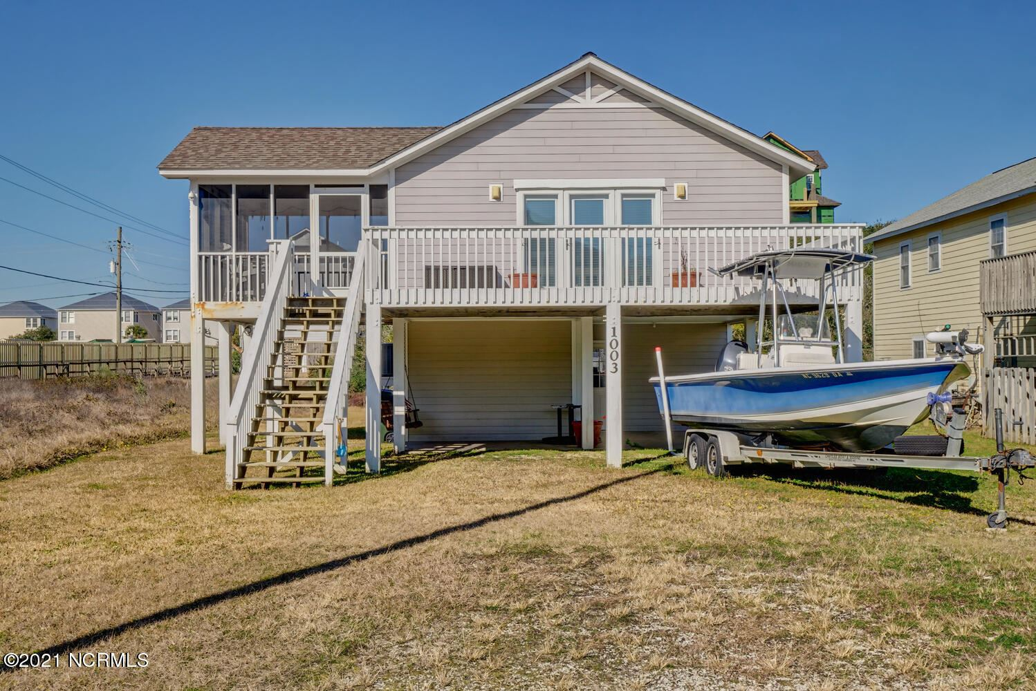 Photo for 1003 N Topsail Drive, Surf City, NC 28445 (MLS # 100254028)