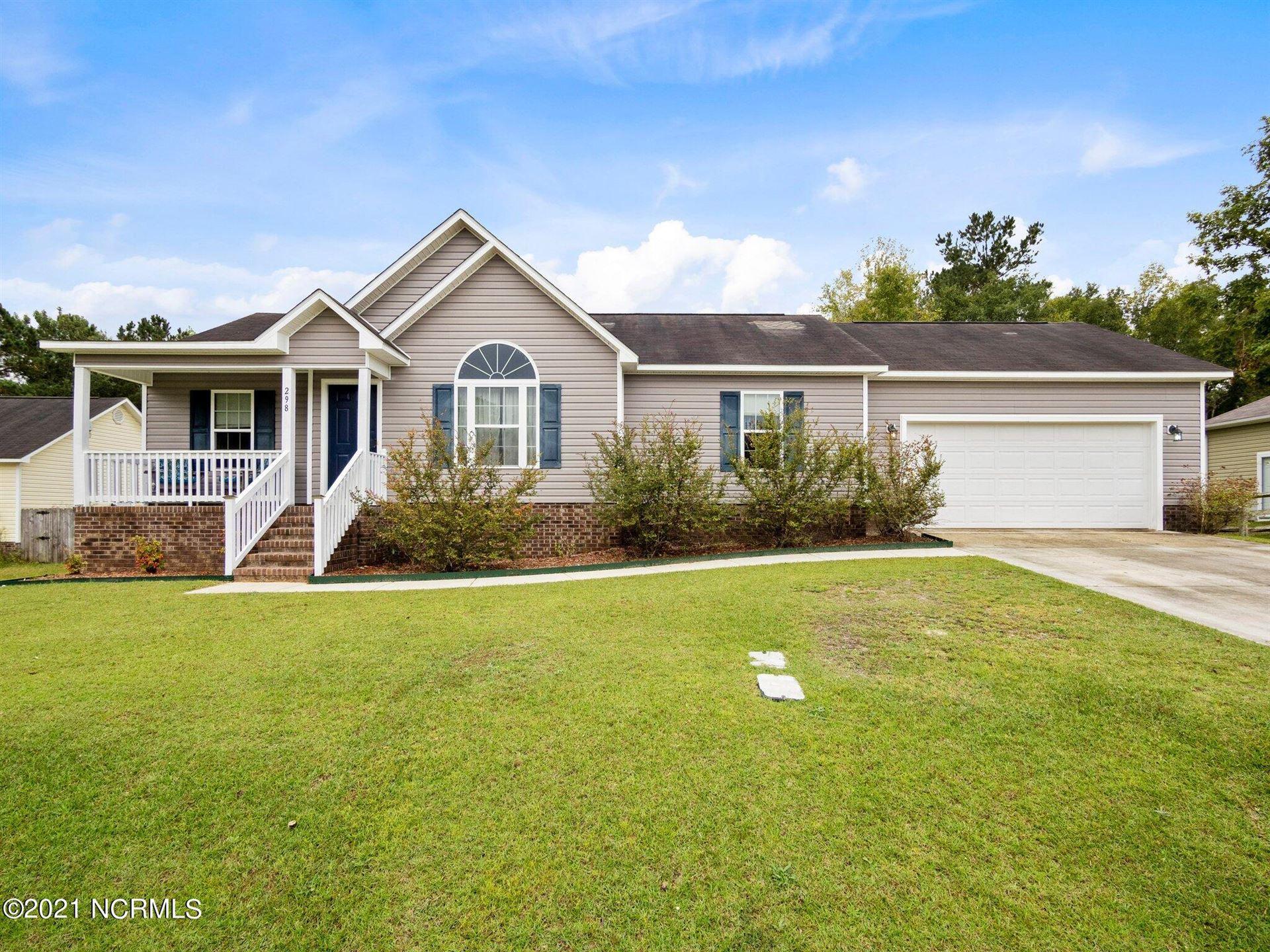 Photo of 298 Brookstone Way, Jacksonville, NC 28546 (MLS # 100295029)