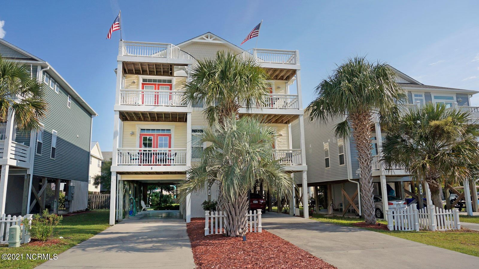 Photo of 502 Tennessee Avenue #1, Carolina Beach, NC 28428 (MLS # 100291034)