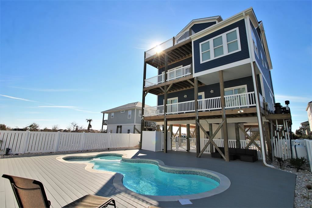 Photo of 8405 4th Avenue, North Topsail Beach, NC 28460 (MLS # 100269035)