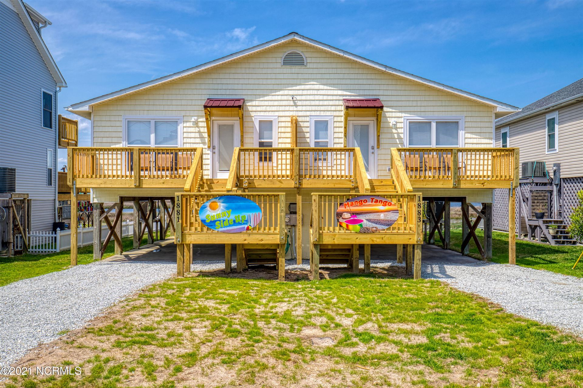 Photo for 1883 New River Inlet Road, North Topsail Beach, NC 28460 (MLS # 100265058)