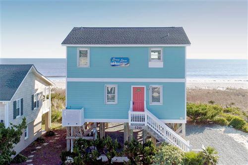 Photo of 120 Ocean Boulevard E, Holden Beach, NC 28462 (MLS # 100200060)