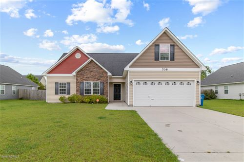 Photo of 708 Savannah Drive, Jacksonville, NC 28546 (MLS # 100232061)