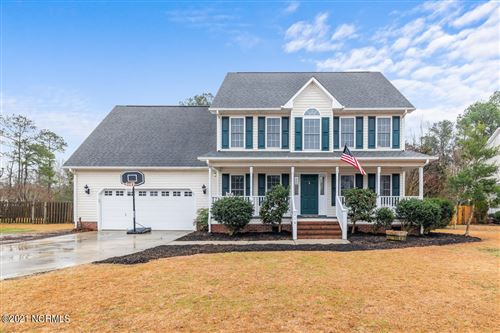 Photo of 218 English Walnut Drive, Richlands, NC 28574 (MLS # 100257073)