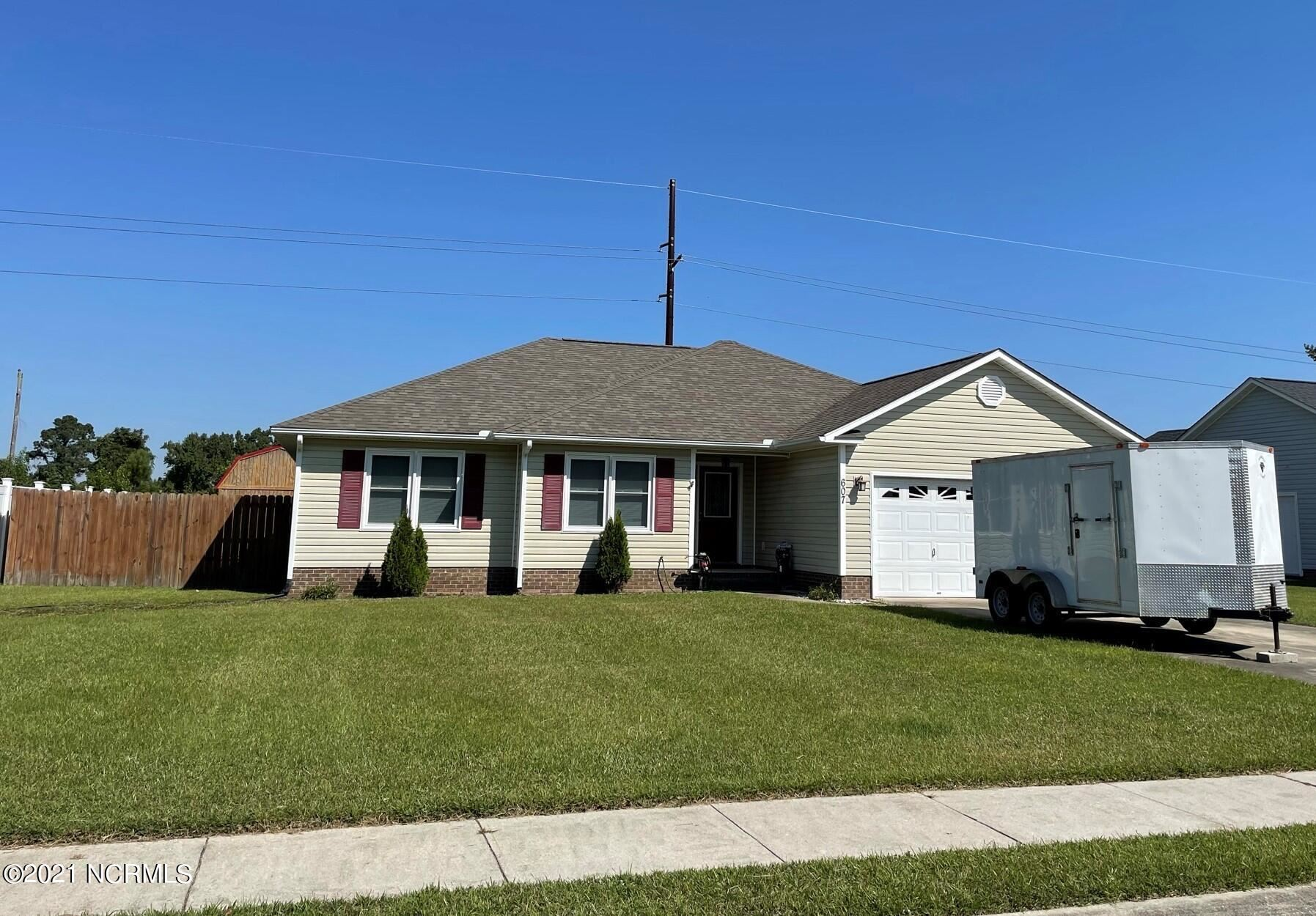 Photo of 607 Fox Ridge Court, Havelock, NC 28532 (MLS # 100293077)
