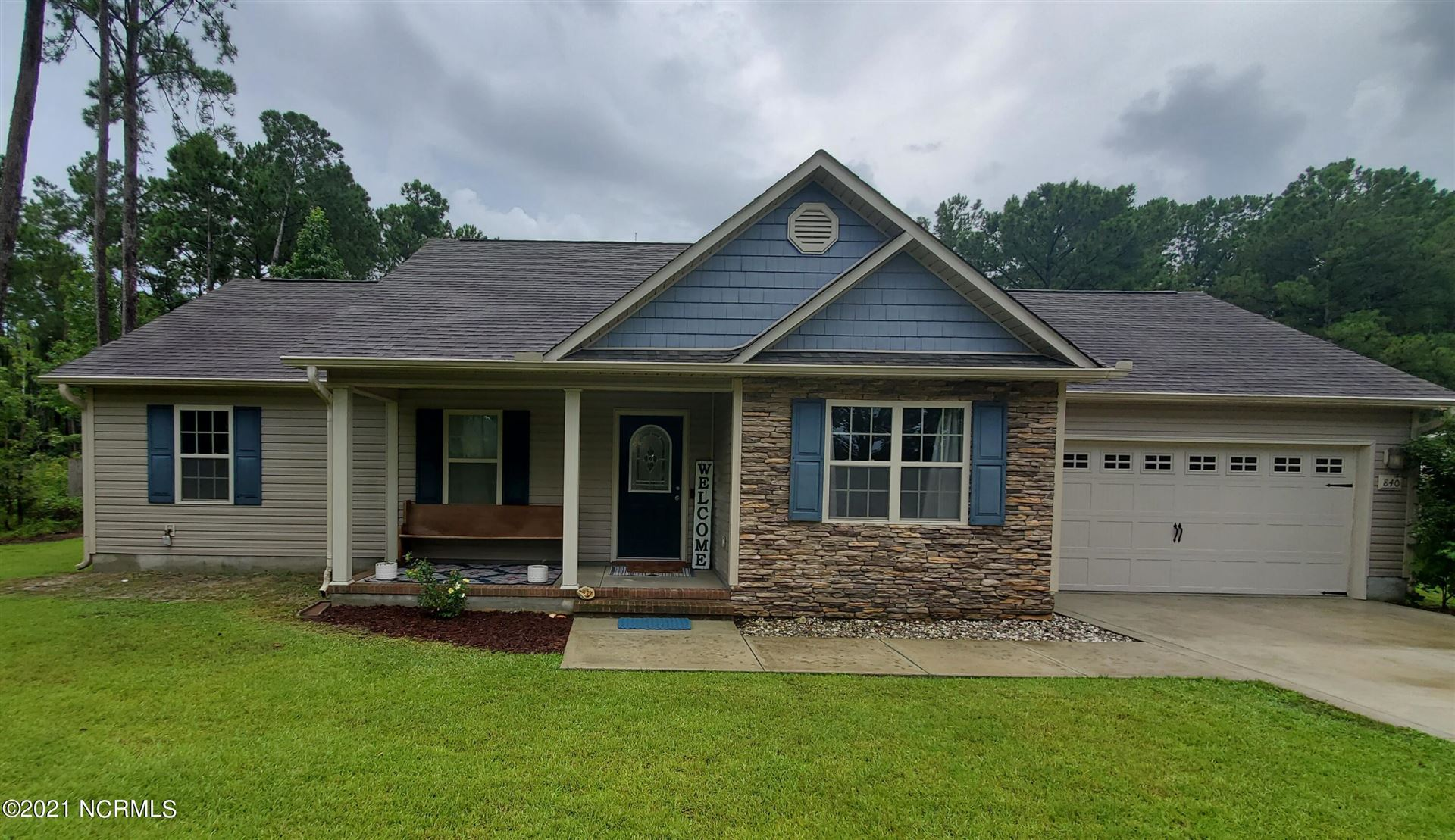 Photo of 840 Old Folkstone Road, Sneads Ferry, NC 28460 (MLS # 100285087)