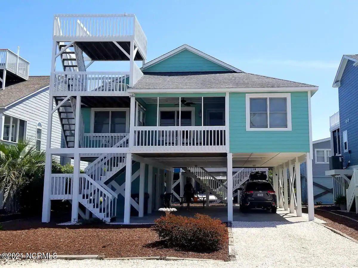 Photo of 417 30th Street, Sunset Beach, NC 28468 (MLS # 100294087)