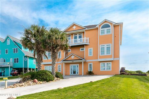 Photo of 3801 Ocean Drive, Emerald Isle, NC 28594 (MLS # 100253089)