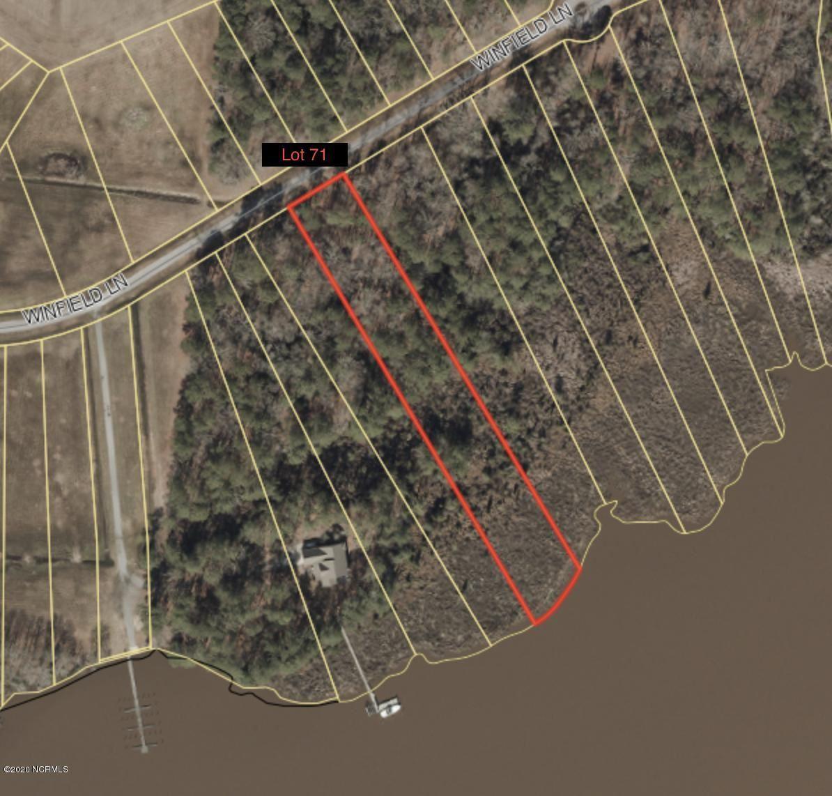 Photo of 71 Winfield Lane, Pinetown, NC 27865 (MLS # 100148092)