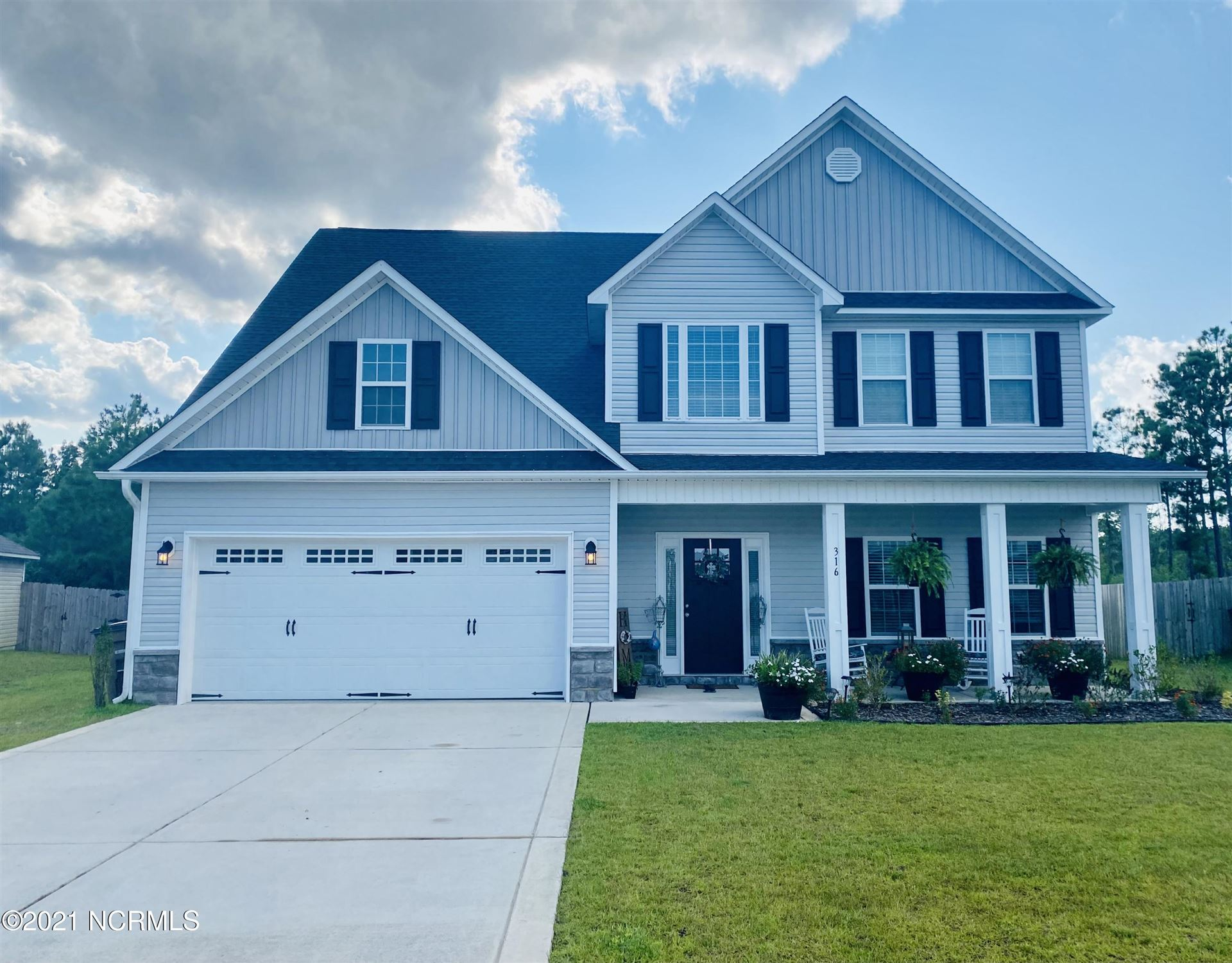 Photo of 316 Old Snap Dragon Court, Jacksonville, NC 28546 (MLS # 100285103)