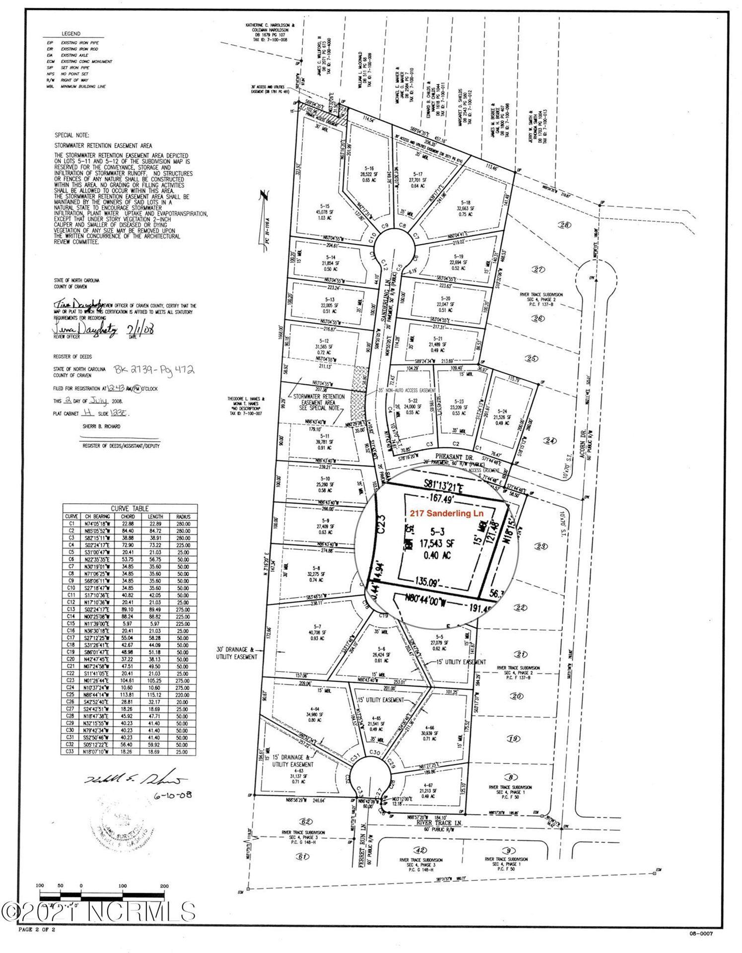 Photo of 217 Sanderling Lane, New Bern, NC 28562 (MLS # 100253107)