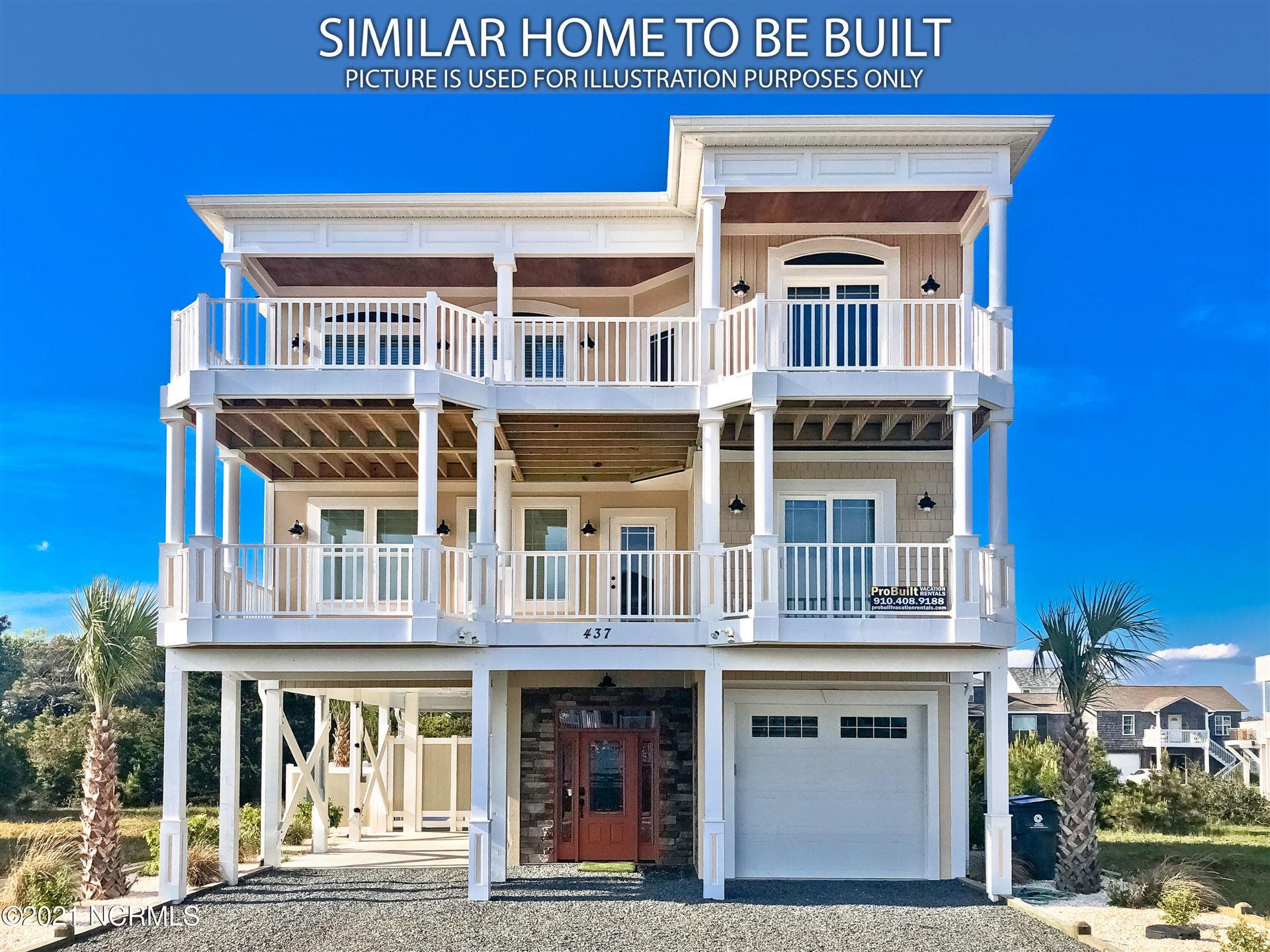 Photo of 351 E 4th Street, Ocean Isle Beach, NC 28469 (MLS # 100283110)