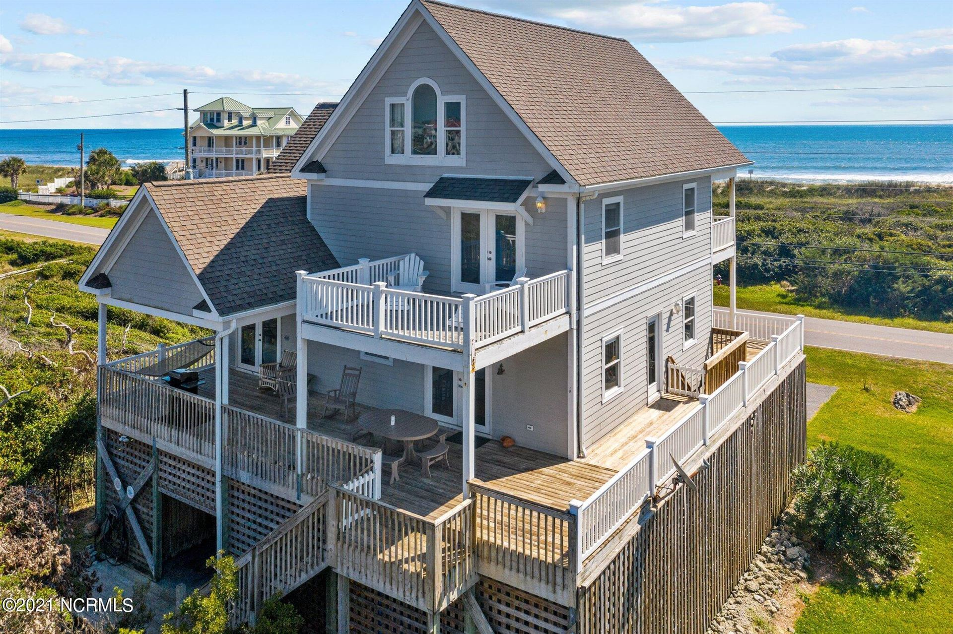 Photo of 625 New River Inlet Road, North Topsail Beach, NC 28460 (MLS # 100294120)