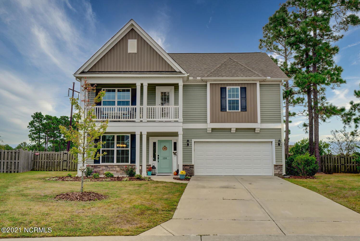 Photo of 128 Porch Swing Way, Holly Ridge, NC 28445 (MLS # 100295132)