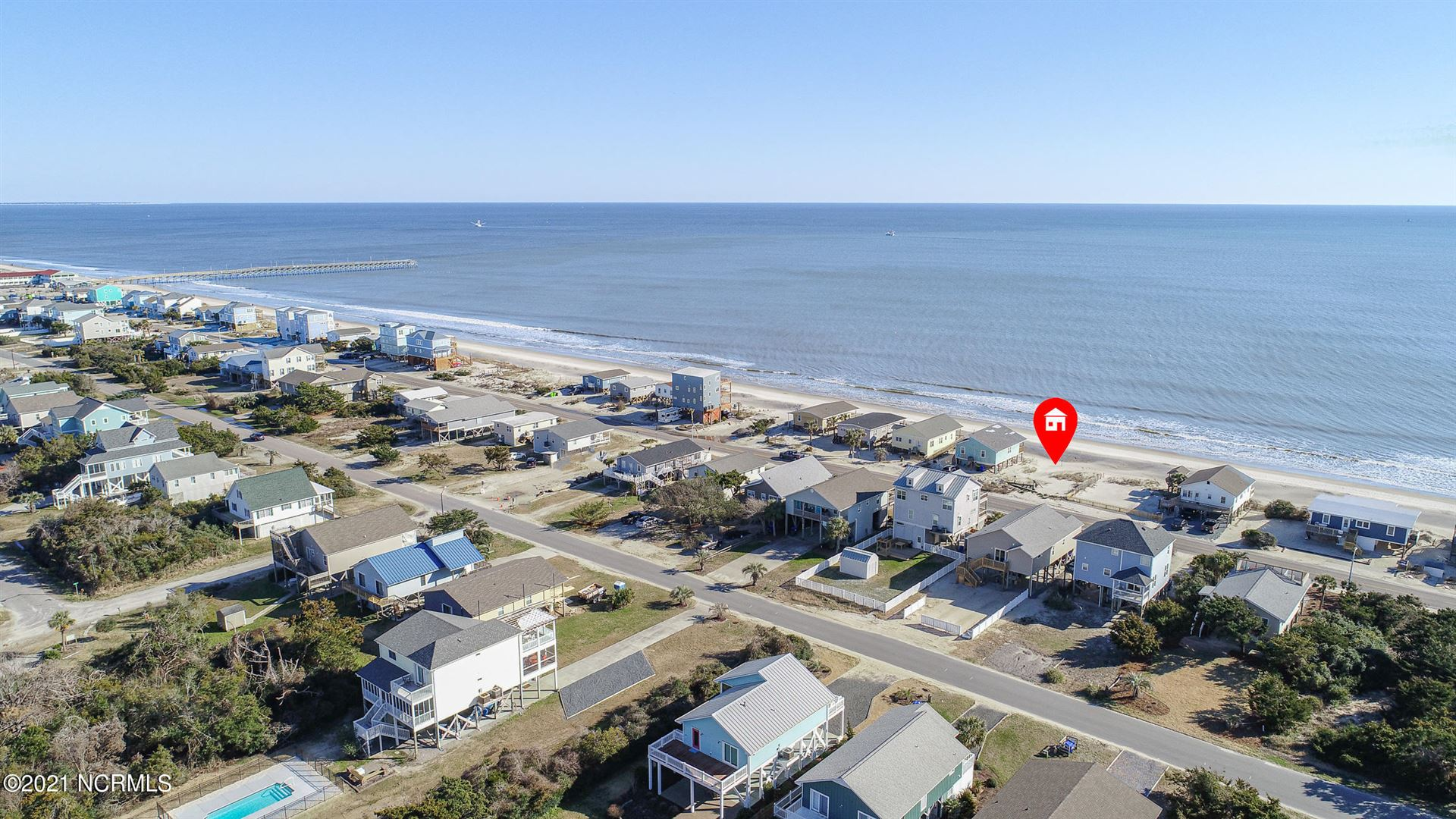 Photo for 621 E Beach Drive, Oak Island, NC 28465 (MLS # 100258136)