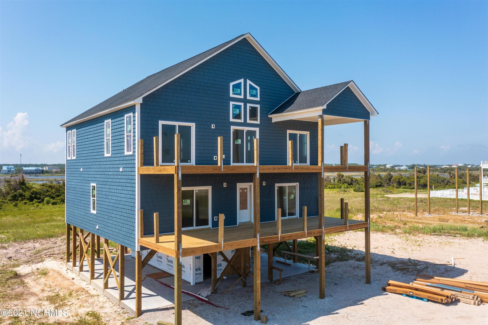 Photo for 1231 New River Inlet Road, North Topsail Beach, NC 28460 (MLS # 100266136)