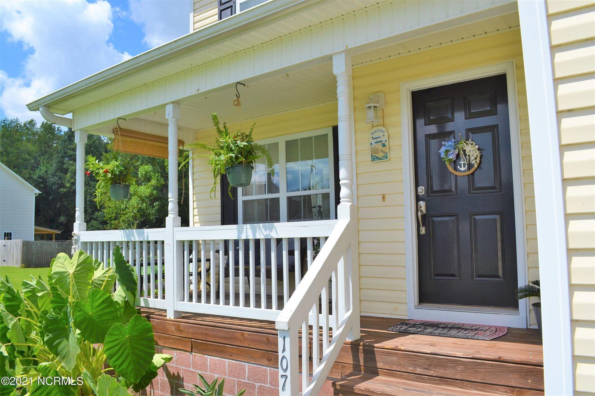 Photo of 107 Spring Leaf Lane, Jacksonville, NC 28540 (MLS # 100287139)