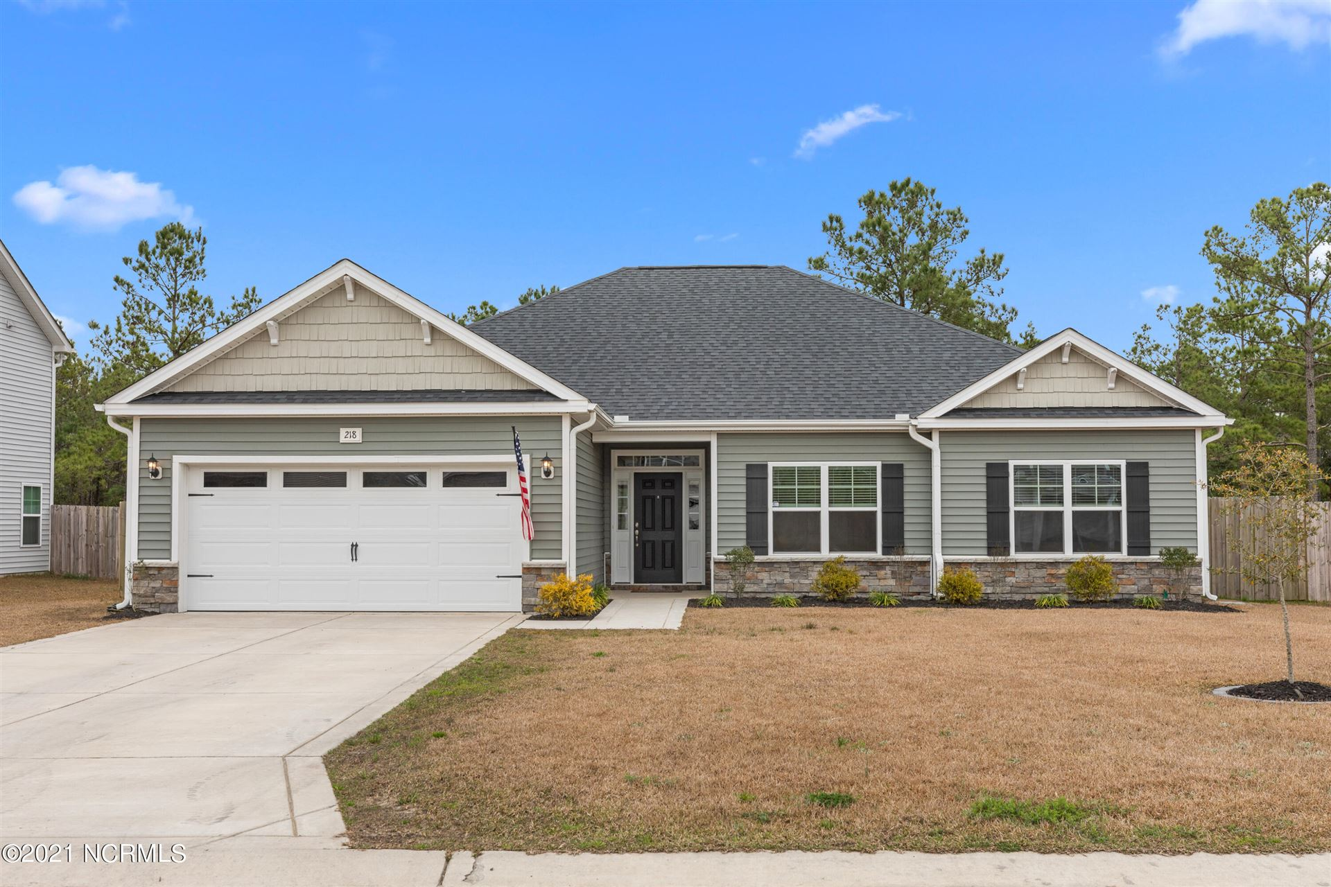 Photo of 218 Salty Dog Lane, Sneads Ferry, NC 28460 (MLS # 100262141)