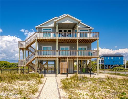 Photo of 2874 Island Drive, North Topsail Beach, NC 28460 (MLS # 100267155)