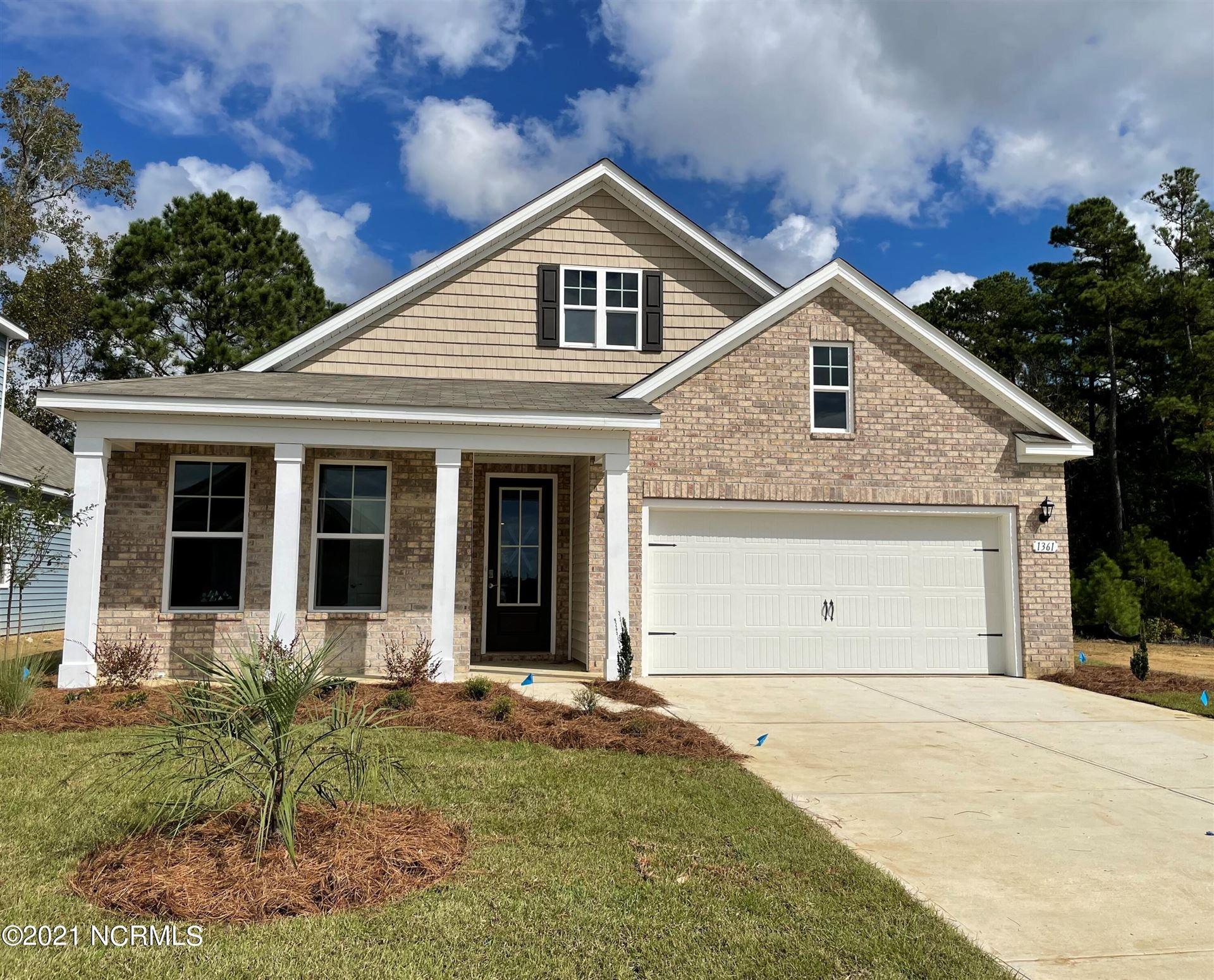 Photo of 1361 Fence Post Lane #Lot 1628- Dover B, Carolina Shores, NC 28467 (MLS # 100284156)