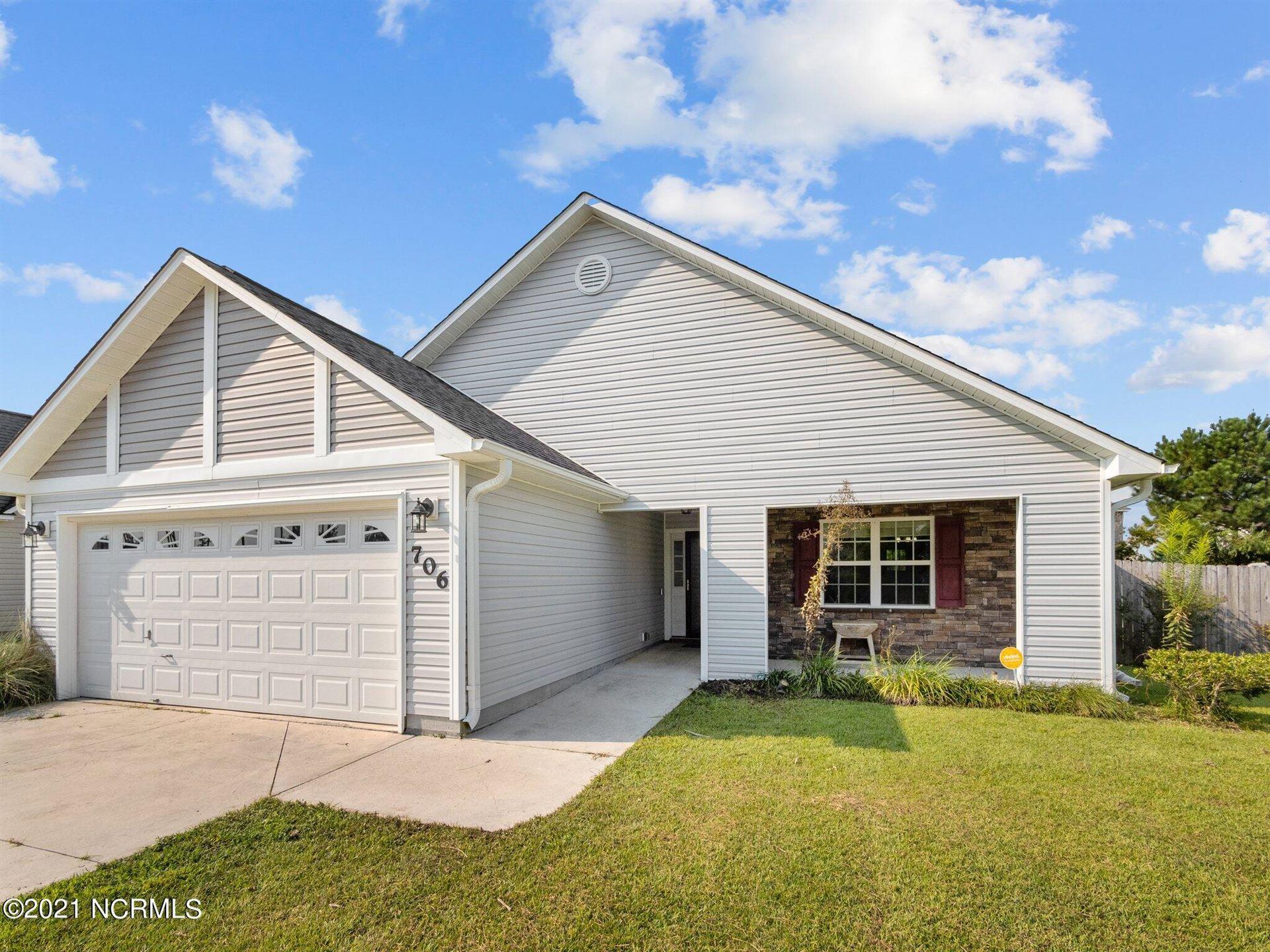 Photo of 706 Savannah Drive, Jacksonville, NC 28546 (MLS # 100291161)