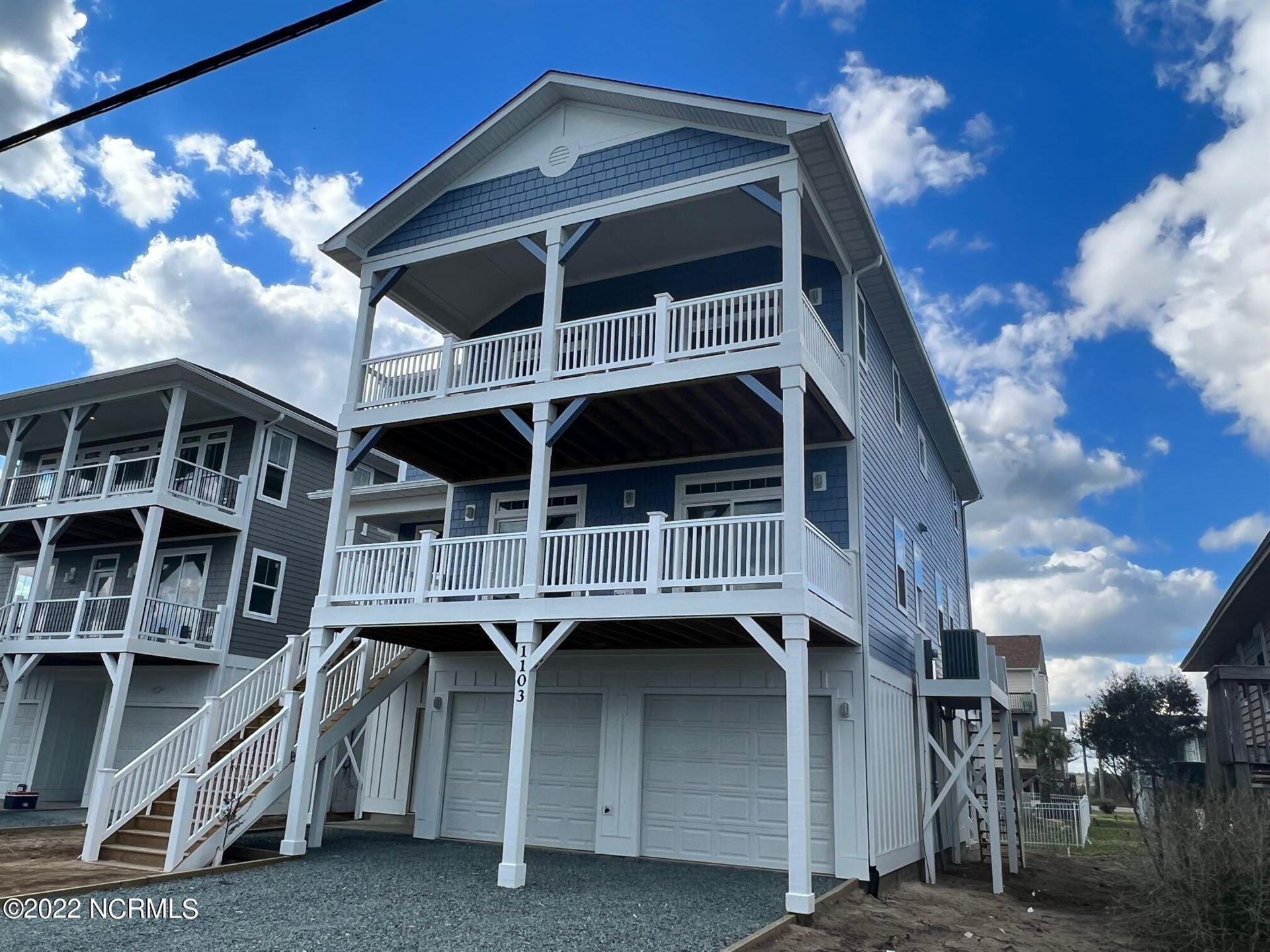 Photo of 1103 N Topsail Drive, Surf City, NC 28445 (MLS # 100277168)