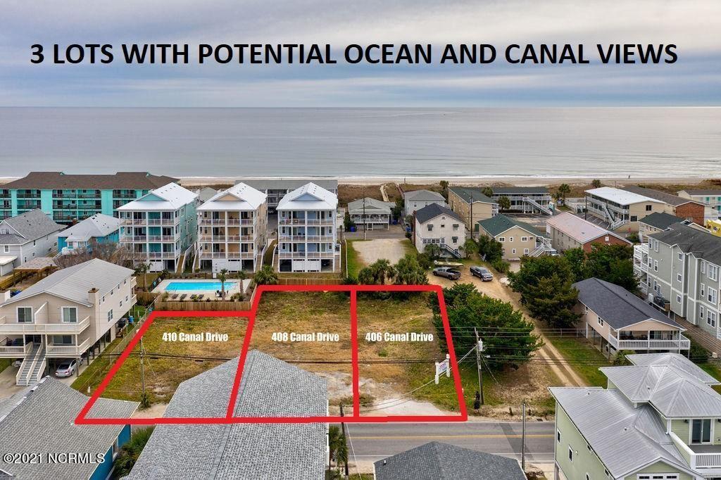 Photo for 406-410 Canal Drive, Carolina Beach, NC 28428 (MLS # 100254171)