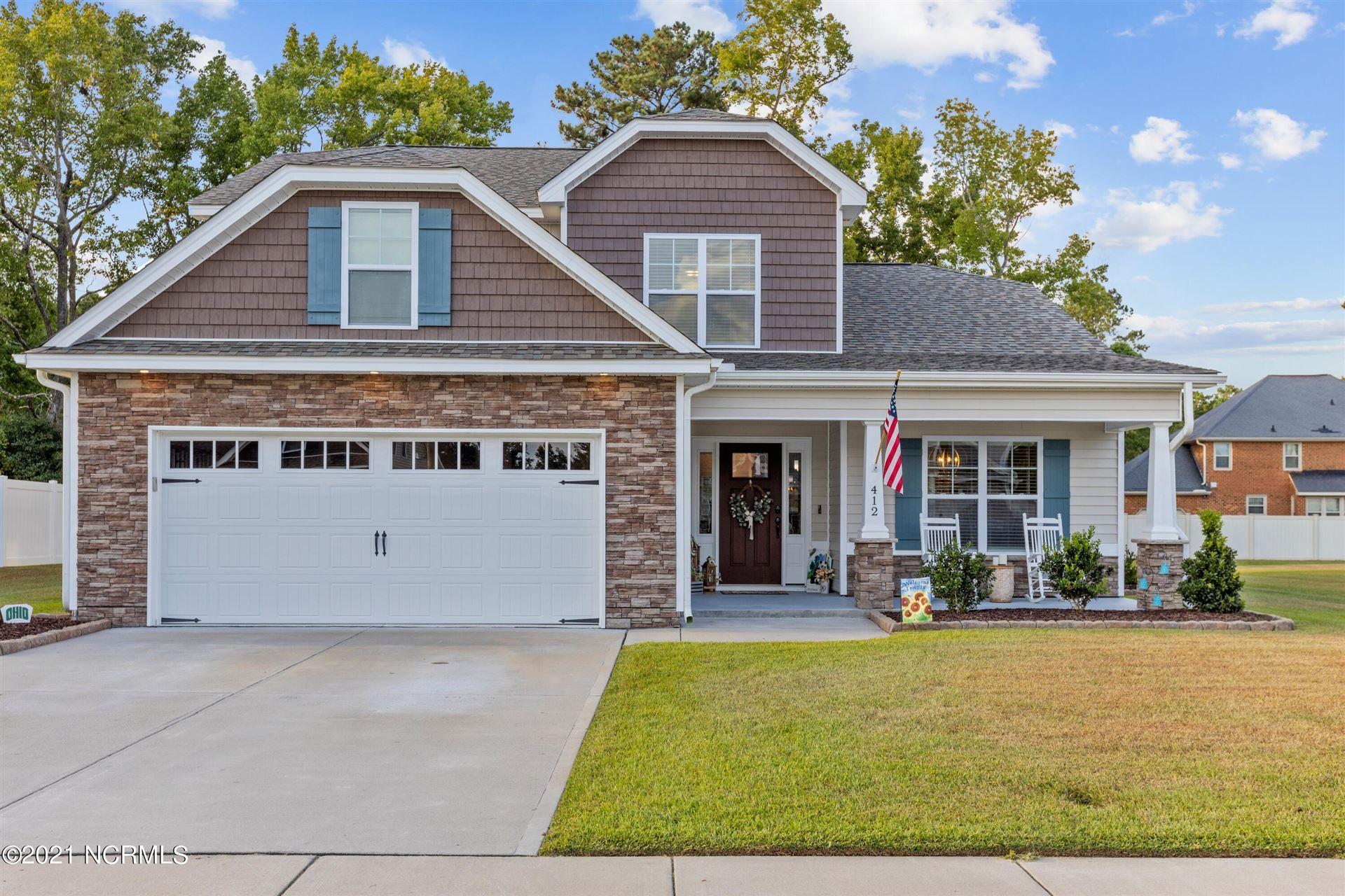 Photo of 412 Cheltenham Drive, Greenville, NC 27834 (MLS # 100291177)
