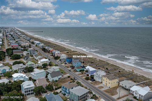 Photo of 833 S Fort Fisher Boulevard, Kure Beach, NC 28449 (MLS # 100275178)