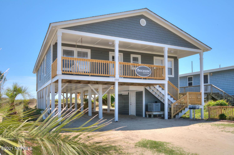 Photo for 3301 W Beach Drive, Oak Island, NC 28465 (MLS # 100269180)