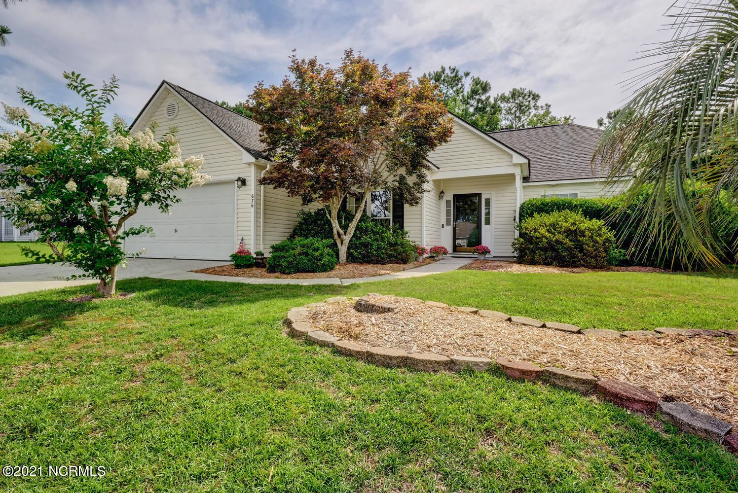 Photo for 676 Hickory Branches Drive, Belville, NC 28451 (MLS # 100279184)