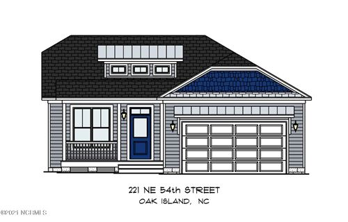Photo of 221 NE 54th Street, Oak Island, NC 28465 (MLS # 100270185)