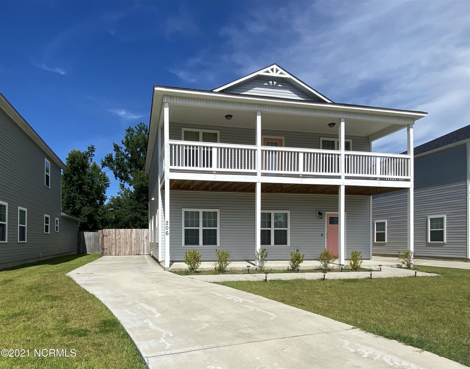 Photo of 206 Robert Alan Drive, Jacksonville, NC 28546 (MLS # 100287187)