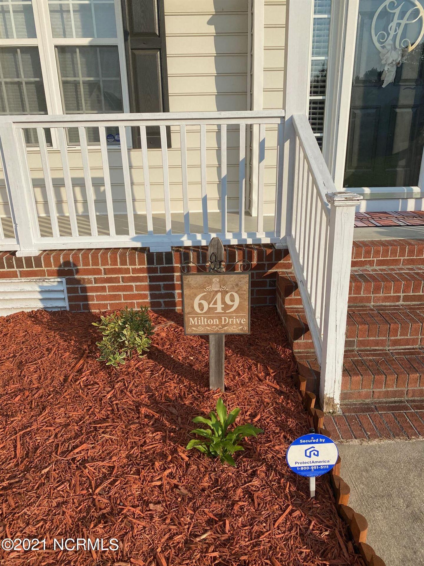 Photo of 649 Milton Drive, Winterville, NC 28590 (MLS # 100286192)