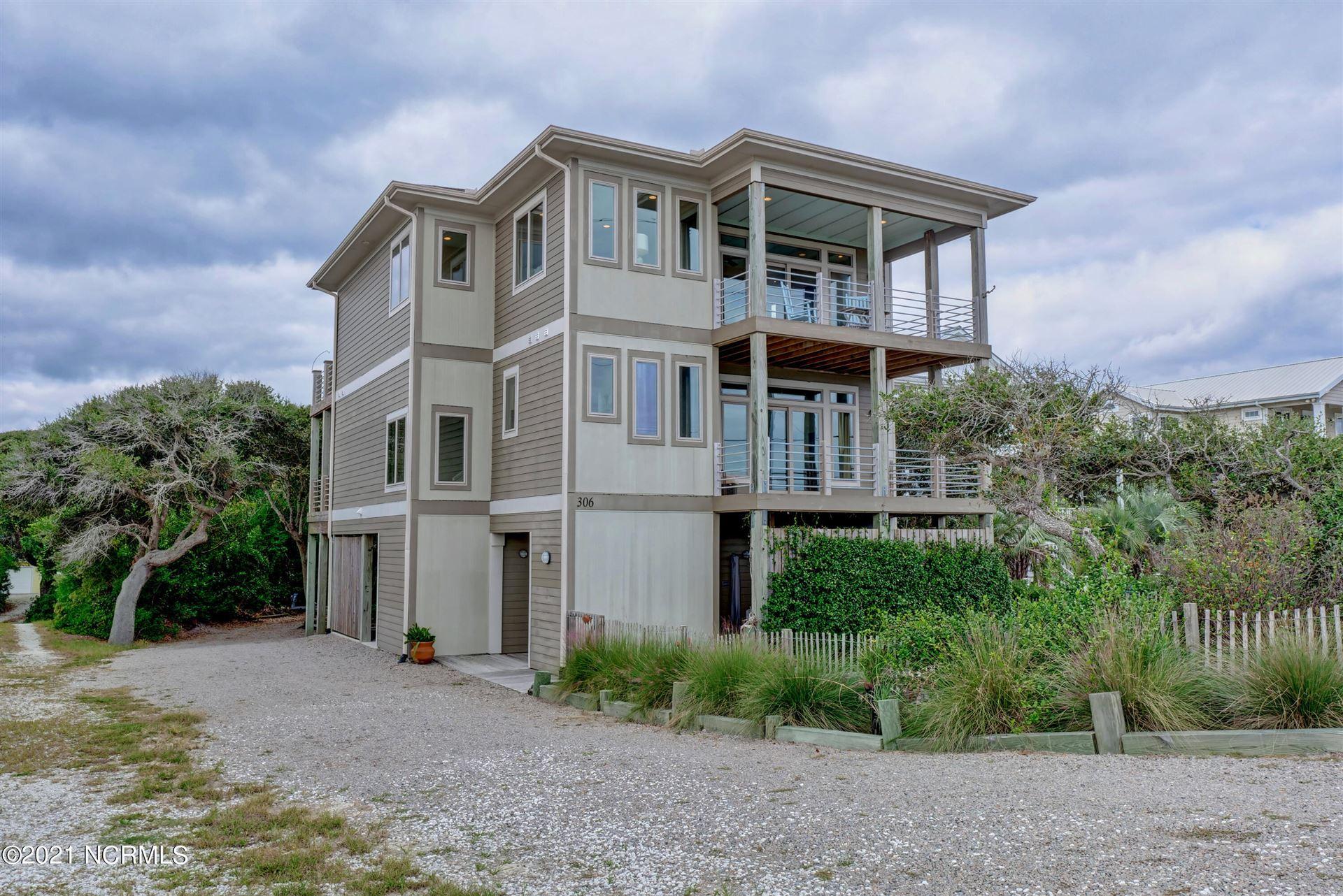 Photo of 306a N Anderson Boulevard, Topsail Beach, NC 28445 (MLS # 100295197)