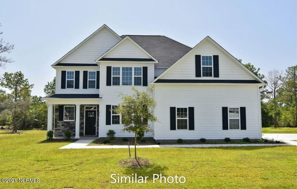 Photo of 408 Water Wagon Trail, Jacksonville, NC 28546 (MLS # 100295200)