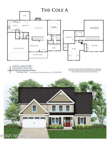 Photo of 152 Backfield Place, Jacksonville, NC 28540 (MLS # 100253201)