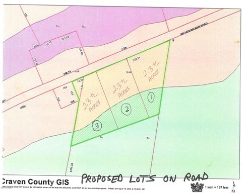 Photo of Lot 1 Wilmar Road, Vanceboro, NC 28586 (MLS # 100235211)