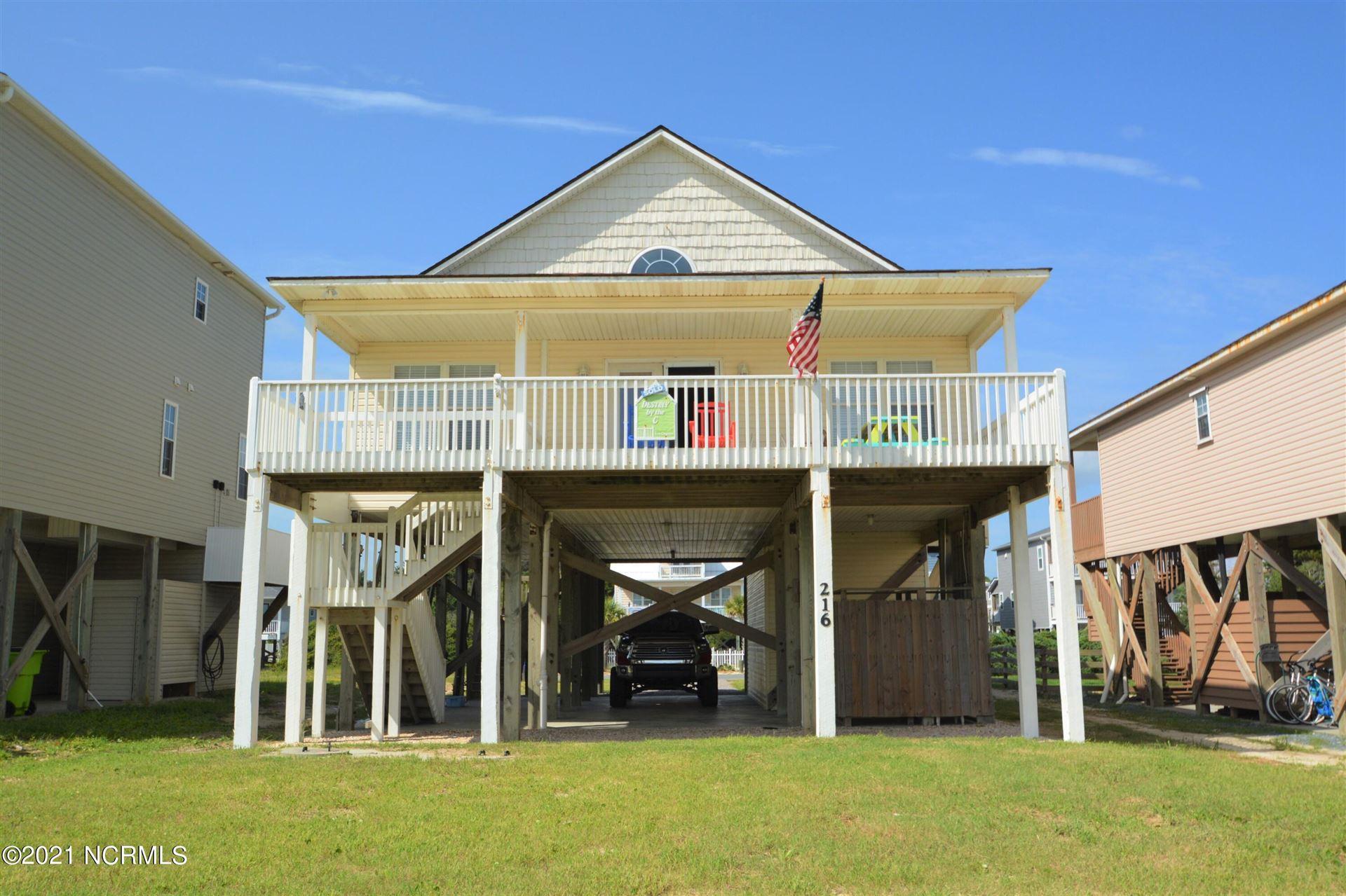 Photo for 216 W Beach Drive, Oak Island, NC 28465 (MLS # 100286215)