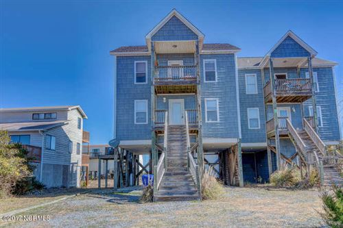 Photo of 210 Oyster Lane, North Topsail Beach, NC 28460 (MLS # 100201220)