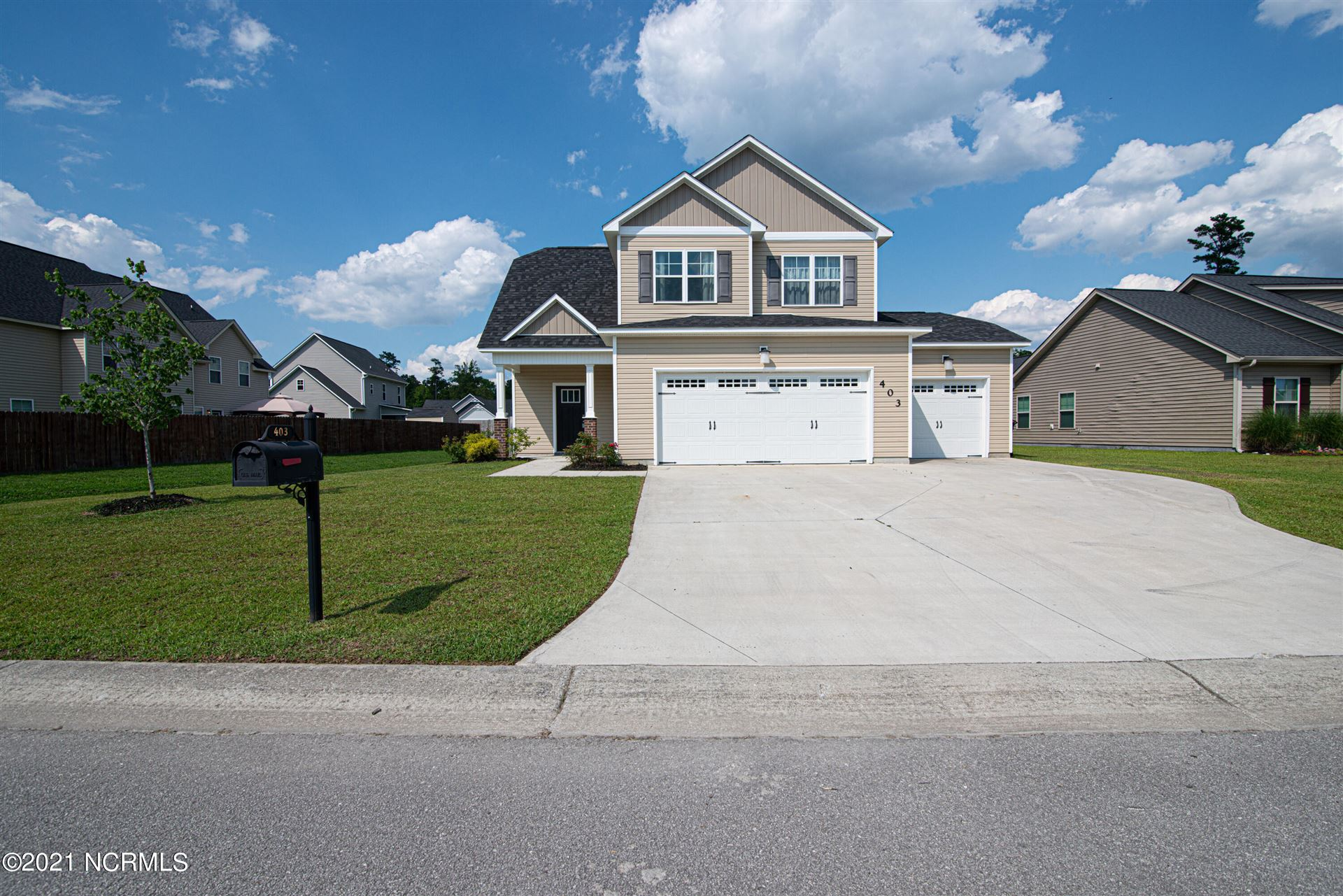 Photo of 403 Turp Landing Lane, Jacksonville, NC 28546 (MLS # 100277222)