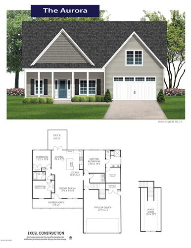 Photo of 305 Brinley Place, Maple Hill, NC 28454 (MLS # 100236229)