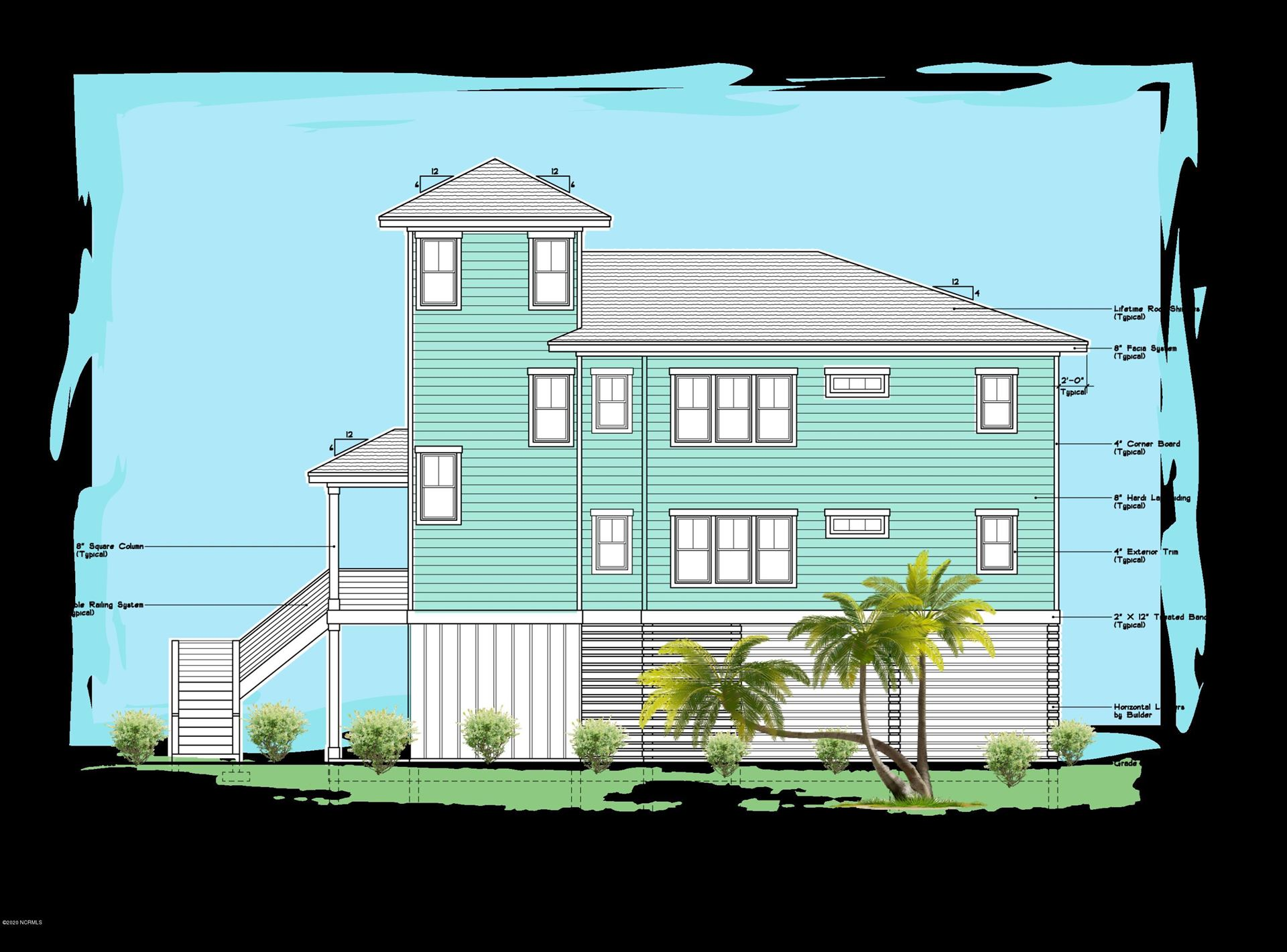 Photo for 32 Osprey Drive, North Topsail Beach, NC 28460 (MLS # 100241232)